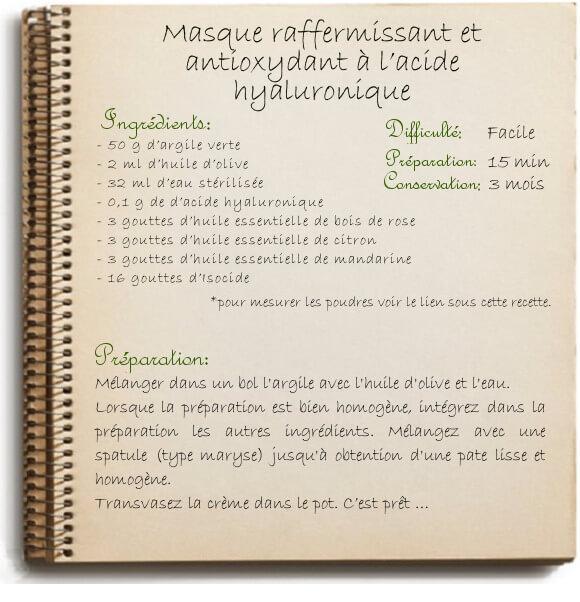 Masque raffermissant visage recette antirides maison l - Masque maison pour le visage ...