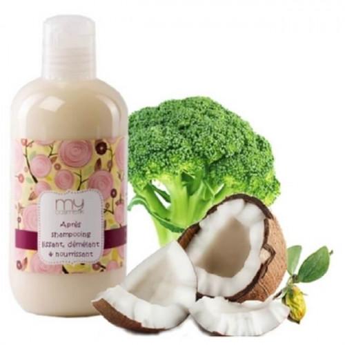 Après shampooing lissant, démélant et nourrissant - la recette