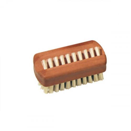 Brosse à ongles en bois de poirier (petite)