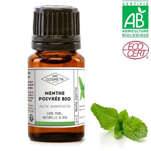Huile essentielle de Menthe poivrée inde BIO (AB)