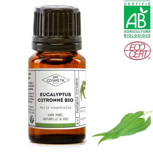 Huile essentielle d'eucalyptus citronné BIO (AB)