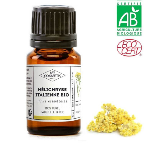 Huile essentielle d'Hélichryse italienne BIO - AB (Immortelle)