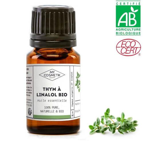 Huile essentielle de thym à linalol BIO