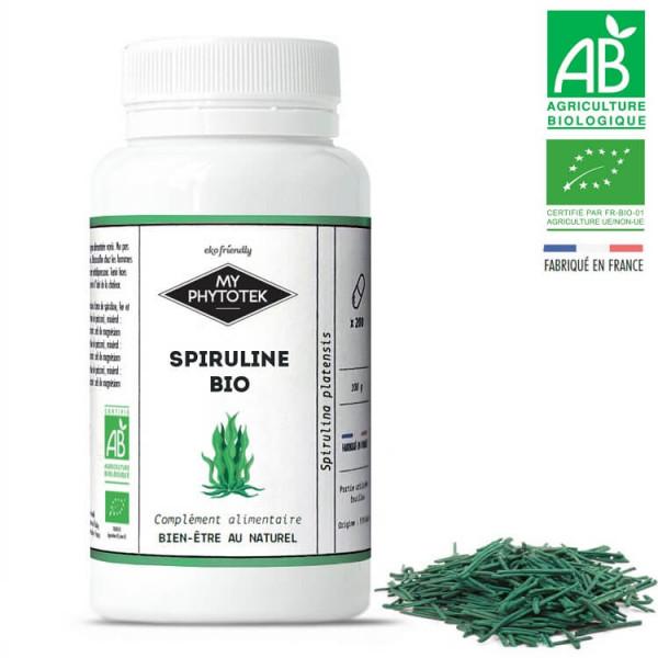 Spiruline Bio France : Code promo - Plante - Vertus |  Quels sont les bénéfices