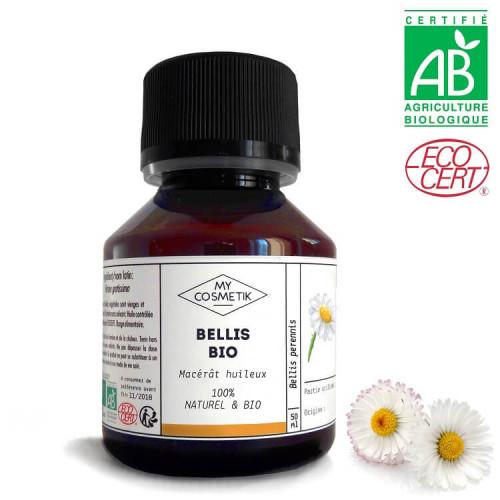 Macérat huileux de Bellis BIO (pâquerettes)