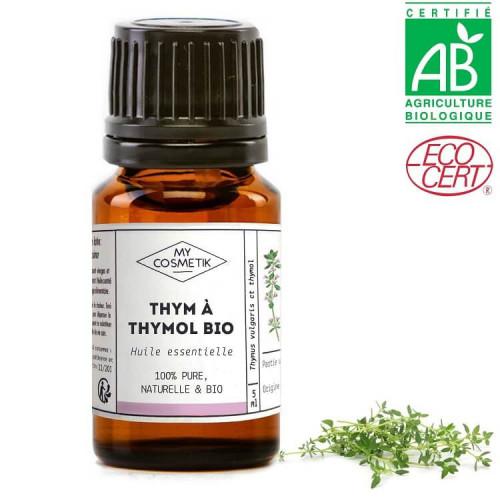 Huile essentielle de thym à thymol BIO (AB)