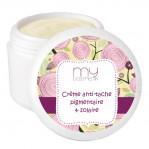 Crème anti-tache pigmentaire et solaire
