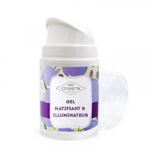Gel matifiant & illuminateur de teint pour le visage
