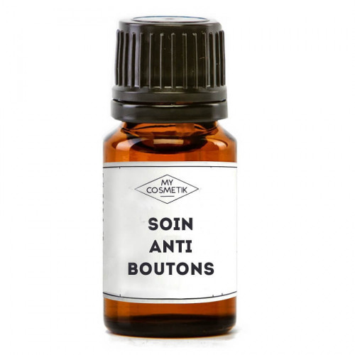 Soin local anti-boutons aux huiles essentielles