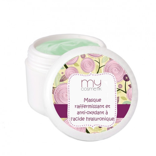 Masque raffermissant et antioxydant à l'acide hyaluronique