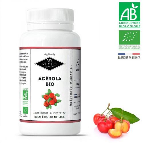 Comprimés Acérola BIO - 1000 mg