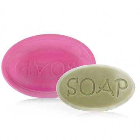 Moule à savon ovale « SOAP » en silicone