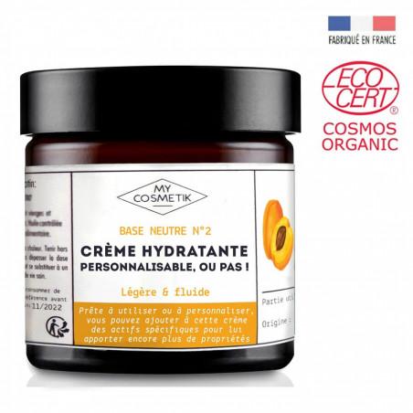 Base neutre N°2 - crème hydratante personnalisable, ou pas !