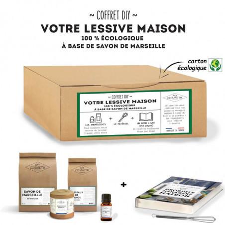 Coffret DIY « faire sa lessive maison au savon de Marseille  »