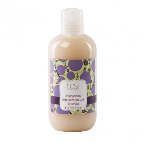 Shampooing stimulant du cuir chevelu à l'Ylang Ylang