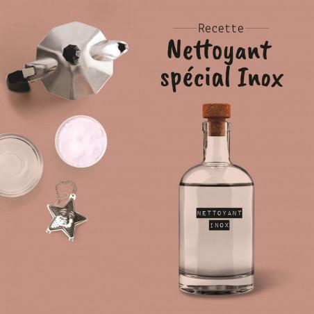 Recette de nettoyant spécial Inox (hotte, crédence, etc)