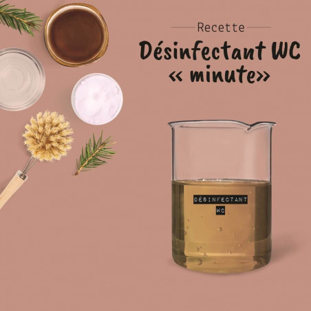Désinfectant W-C, recette minute