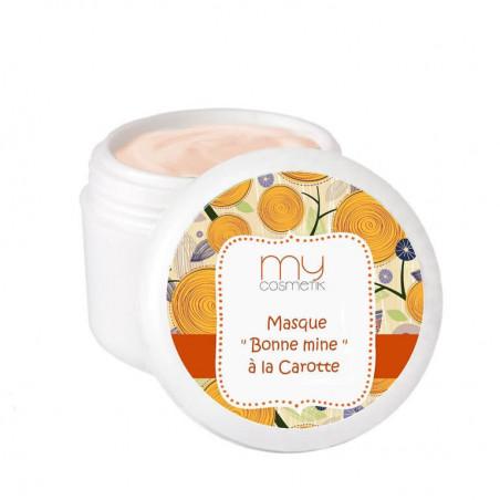 Recette de masque « Bonne mine » à la carotte & à la vitamine C