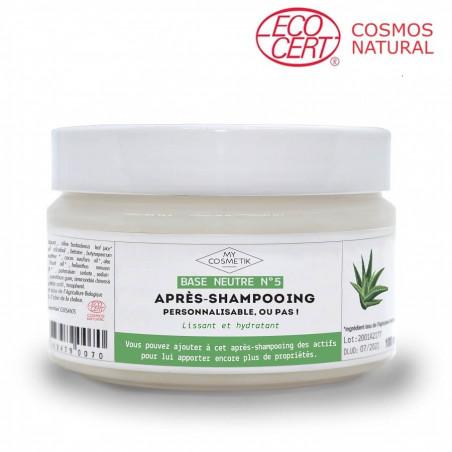 Base neutre d'après-shampooing personnalisable
