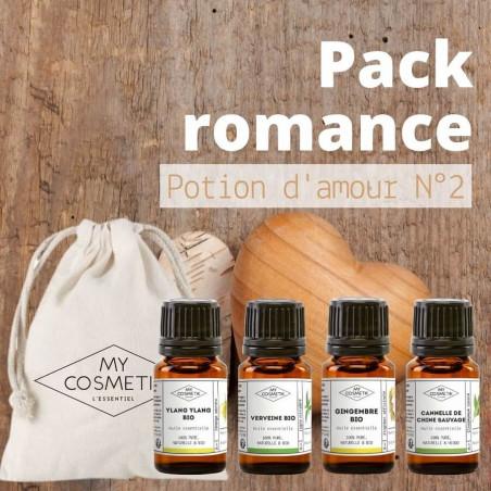 Pack Romance « Potion d'amour N°2 » : synergie épicée et puissante
