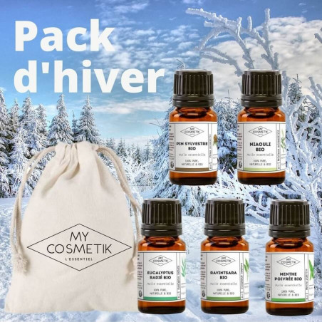 5 huiles essentielles - hiver