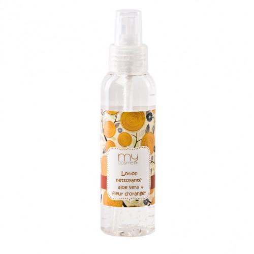 Lotion nettoyante à la fleur d'oranger & Aloès