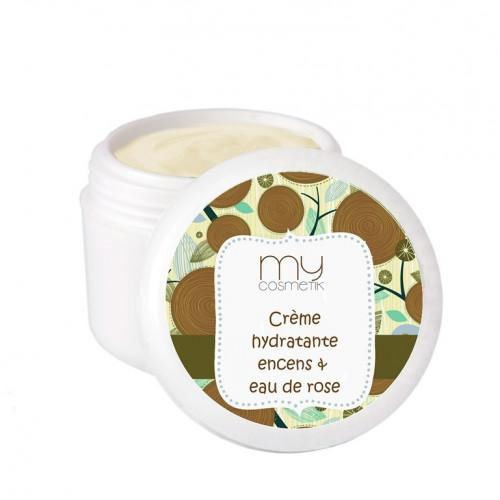 Crème hydratante Encens & Eau de Rose