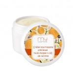 Crème nourrissante précieuse à l'huile d'Argan & huile essentielle de Carotte