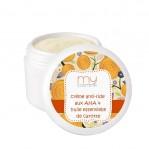 Crème antiride aux AHA & huile essentielle de Carotte