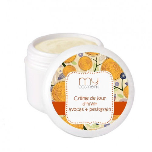 Crème de jour d'hiver Avocat & Petit Grain