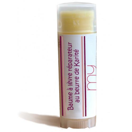 Baume à lèvre réparateur au beurre de Karité