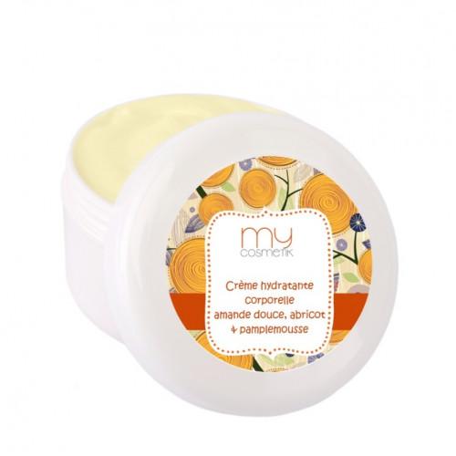 Crème hydratante Amande douce, Abricot & Pamplemousse