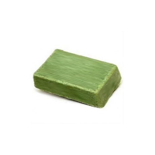 2 savons à l'huile essentielle de Menthe & Argile verte