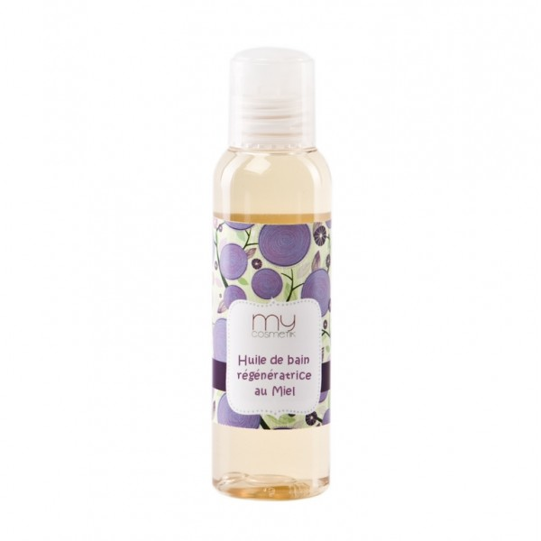 Cosm tique maison huile de bain au miel mycosmetik for Bain vapeur visage maison