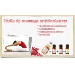 Huile de massage musculaire (antidouleurs)