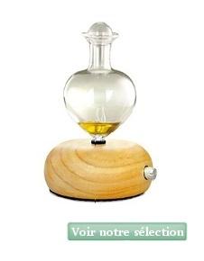Diffuseur d'huile essentielle nébulisateur en verre