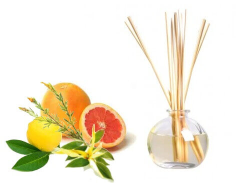 Composition pour diffuseur à tiges d'huiles essentielles