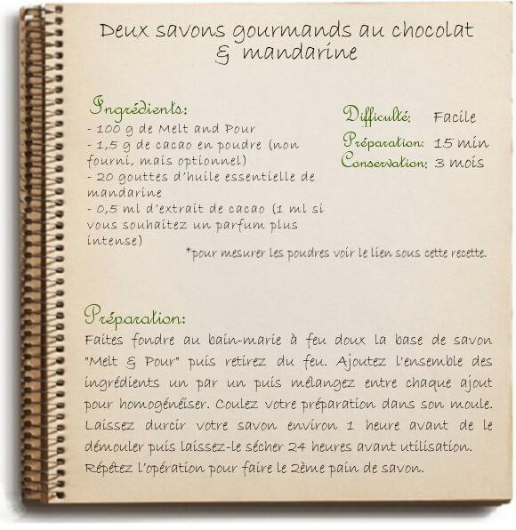 Savon maison au chocolat: nos recettes naturelles