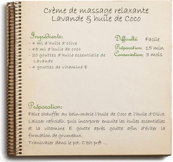 Réaliser une huile de massage déstressante: recette maison