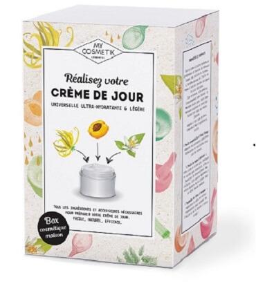 Coffret cosmétique maison: recette crème de jour
